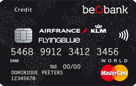 Premium Flying Blue World BeoBank