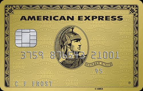 American Express Gold Kredietkaart