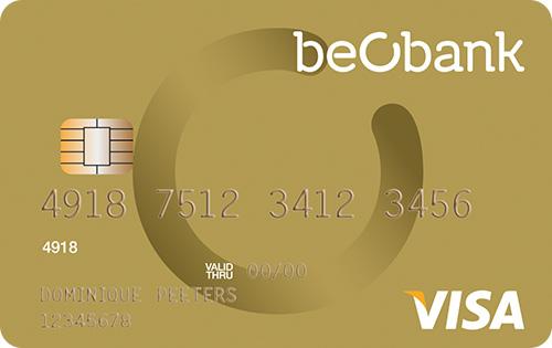 BeoBank betaalkaarten online bestellen