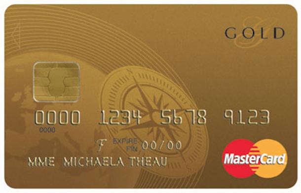 Een Gold Creditcard van Cofidis