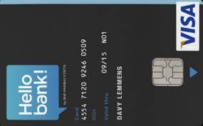 Hello Bank Kaart