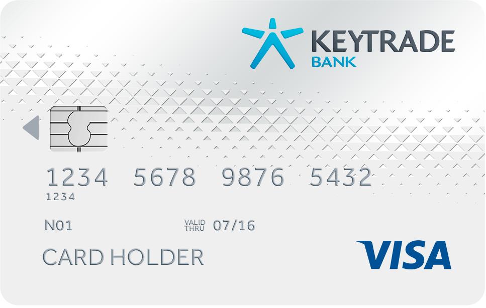 Keytrade Classic Betaalkaart