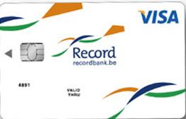 RecordBank betaalkaart voor klanten